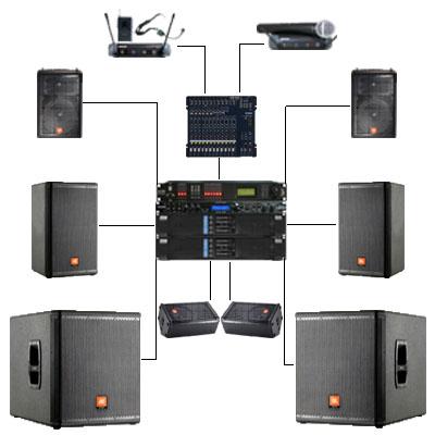 小型活动音响配置详单方案